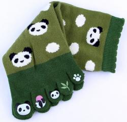 Five-toe Socks Panda