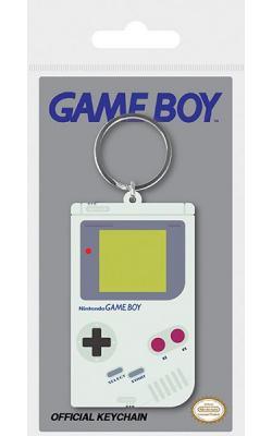 Rubber Keychain Gameboy 6 cm