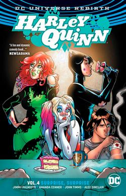 Harley Quinn Rebirth Vol 4: Surprise, Surprise