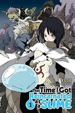 That Time I Got Reincarnated as a Slime Light Novel 1
