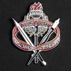 Varsity pin: History