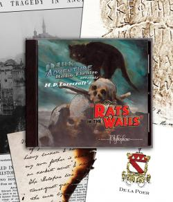Rats in the Walls - audio drama CD