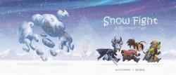 Snow Fight; A Warcraft Tale