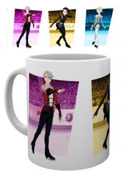 Yuri! ! ! on Ice Mug Victor, Yuri & Yurio