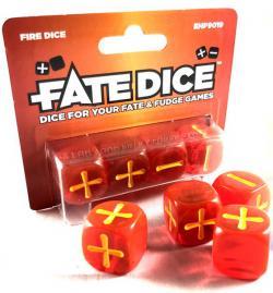 FATE Fire Dice
