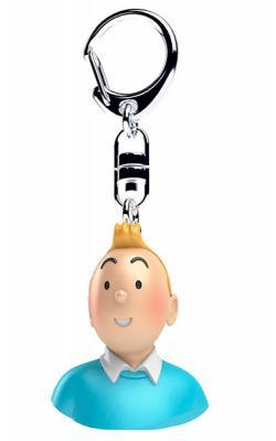 Nyckelring - byst Tintin