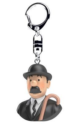 Nyckelring - byst Dupont