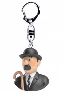 Nyckelring - byst Dupond
