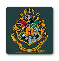 Harry Potter Hogwarts Logo Vintage Coaster