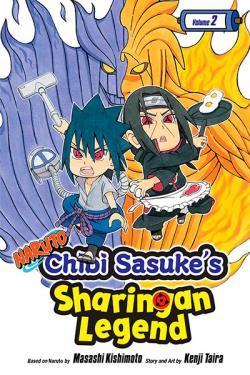 Naruto Chibi Sasuke's Sharingan Legend Vol 2