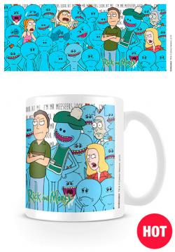 Heat Changing Mug Jerry and Mr Meeseeks