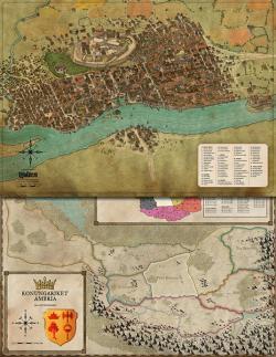 Karta - Yndaros & Grevskap