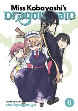 Miss Kobayashi's Dragon Maid Vol 6