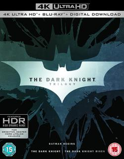 The Dark Knight Trilogy (4K Ultra HD+Blu-ray)