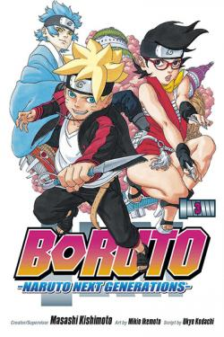 Boruto: Naruto Next Generation Vol 3
