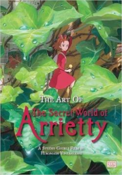 Art of The Secret World of Arrietty