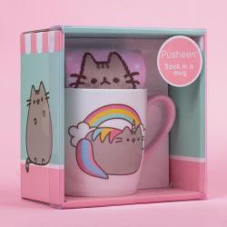 Pusheen Sock in a Mug Unicorn