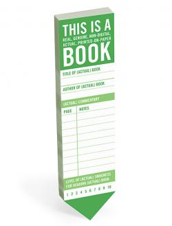 Bookmark: This is a Book