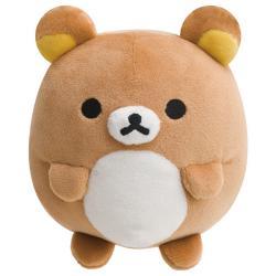 Rilakkuma Bear Plush: Small Round Super Soft