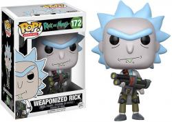 Weaponized Rick Pop! Vinyl Figure