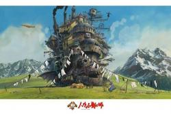 Howl's Moving Castle pussel 258, 1000 bitar
