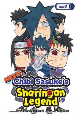 Naruto Chibi Sasuke's Sharingan Legend Vol 3