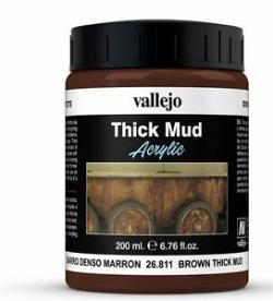 Thick Mud: Brown Mud