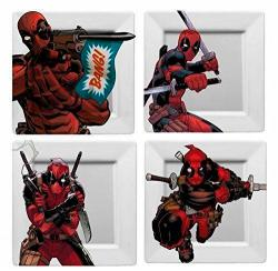 Deadpool Plates 4-Pack BANG!