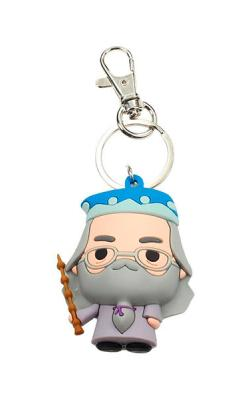 Harry Potter Cutie Collection Rubber Keychain Albus Dumbledore