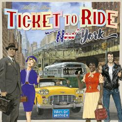 Ticket to Ride - New York (Skandinavisk utgåva)