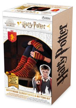 Gryffindor Slouch Socks & Mittens Knit Kit