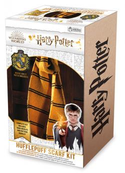 Hufflepuff Scarf Knit Kit