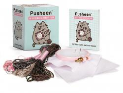 Pusheen: A Cross Stitch Kit