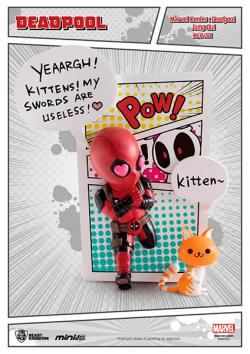 Deadpool Mini Egg Attack Figure Jump Out 4th Wall 12 cm