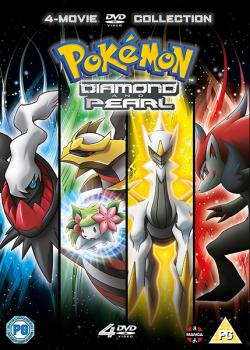 Pokémon The Movie Collection 10-13: Diamond and Pearl