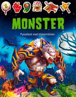 Monster - pysselbok med klistermärken