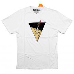 T-Shirt - Vit Raket Large