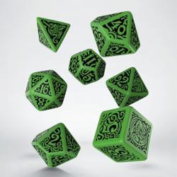 Call of Cthulhu - Cthulhu Green Dice Set