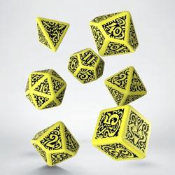 Call of Cthulhu - Hastur Yellow Dice Set