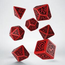 Call of Cthulhu - Nyarlathotep Red Dice Set