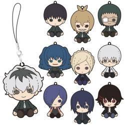 Tokyo Ghoul: re Pluffy Rubber Strap Collection