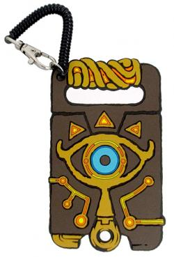 Breath of the Wild Rubber Pass Case (Sheikah Seeker Stone)