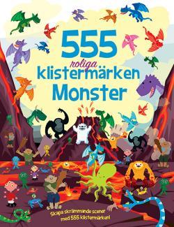 555 roliga klistermärken - Monster