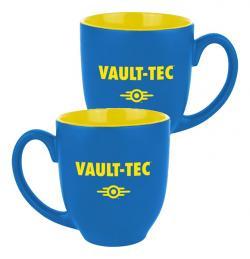 Mug Vault-Tec Logo Blue/Yellow