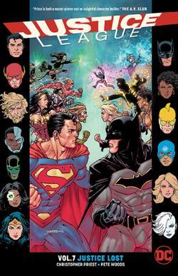 Justice League Rebirth Vol 7: Justice Lost