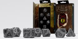 Call of Cthulhu Metal Dice Set (Limited)