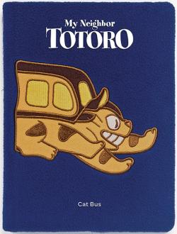 My Neighbor Totoro Cat Bus Plush Journal