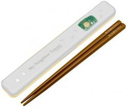 Totoro chopsticks white