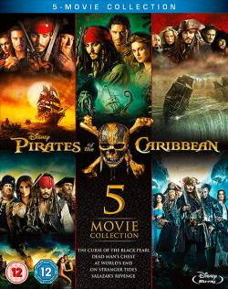 Pirates of the Caribbean 1-5