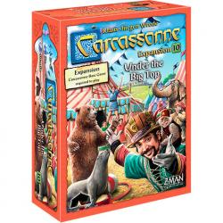 Carcassonne expansion 10 - The Circus (svensk)